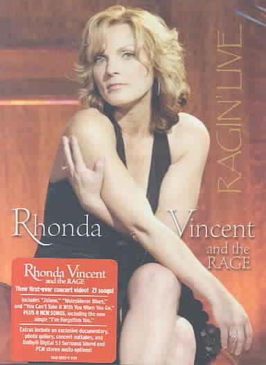RAGIN' LIVE BY VINCENT,RHONDA (DVD)